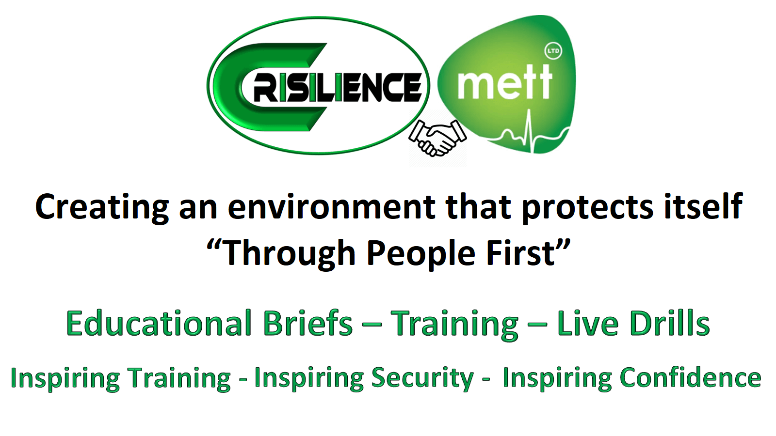 CIMAT slide 19 Creating an environment that protects itself through people first
