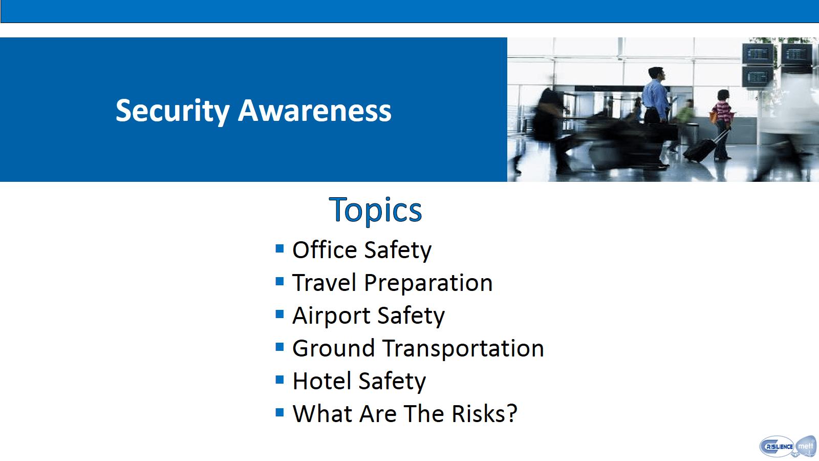 CIMAT 3 Security Awareness Topics