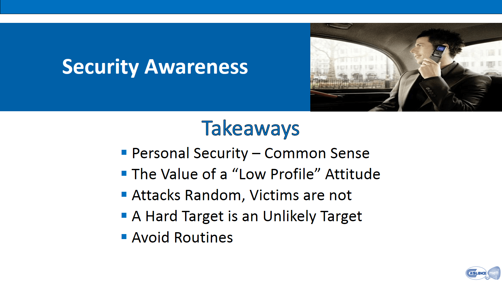 CIMAT 4 Security Awareness Takeaways