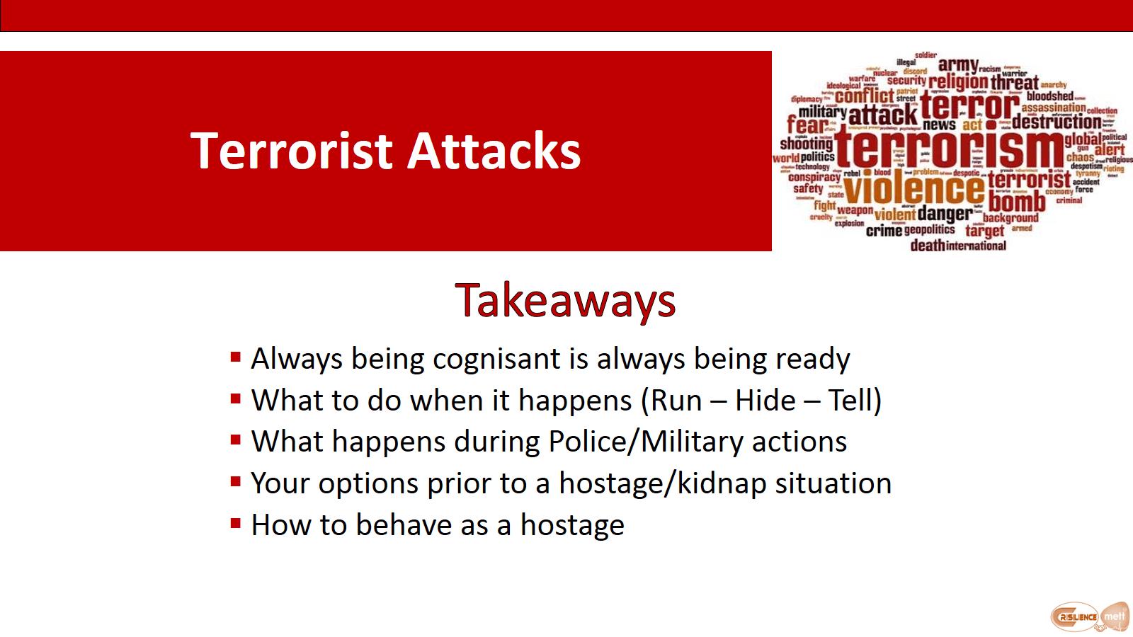 CIMAT slide 7 Terror Attack takeaways